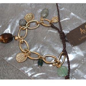 Arden Bead and Charm Bracelet NWT